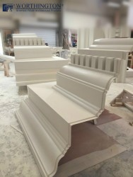 Large Cornice in our Factory